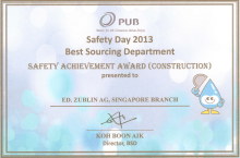 PUB SAFETY AWARD